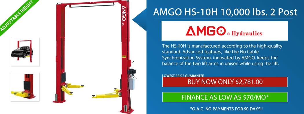 hs-10h amgo 2 post lift