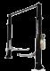 TP9KAC-TUX Light Duty Asymmetric Two Post Lift 9,000 lb. Capacity