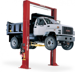 "Challenger 15002 Symmetric 16' 6"" Heavy Duty Two Post Vehicle Lift 15,000"