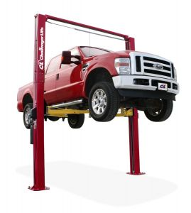 Challenger E12 Symmetric Adjustable Height Two Post Vehicle Lift 12,000 lb