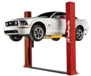 Challenger CLFP9 Floorplate Two Post Vehicle Lift 9,000 lb