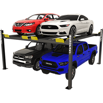 BendPak HD-9SWX 4 Post Lift 9,000 lb  Lift Capacity 5175024