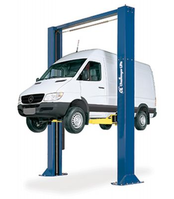 "Challenger 15002-3S Symmetric 198"", 3-Stage Arms, Heavy Duty Two Post Vehicle Lift 15,000 lb Sprinter Vehicles"
