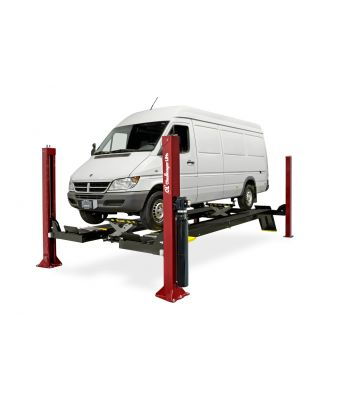 Challenger 4015EFX Four Post Closed Front Car Lift 15,000 lb.