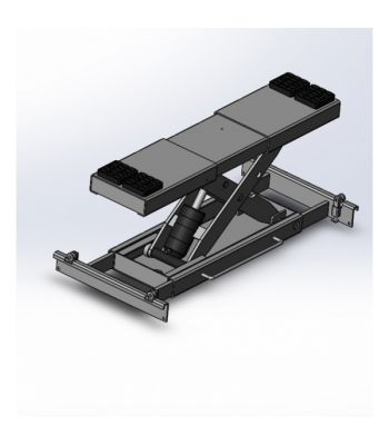 Olympic 4-Post Lift Rolling Center Jack
