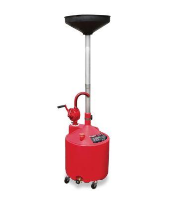 Ranger RD-18G 5150995 18-Gallon Portable Oil Drain With Pump and Drain Valve