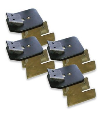 Ranger Specialty Changer Clamps Elevated ATV Clamps Kit / Set of 4
