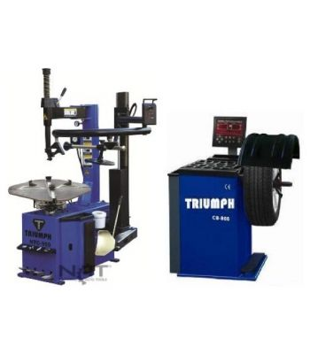 "Triumph NTC-950-1/NTB-800 Tire Changer and Wheel Balancer Combo 26"" Capacity"