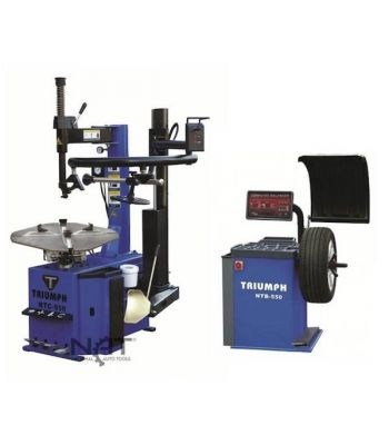 "Triumph NTC950-1/NTB550 Tire Changer and Wheel Balancer Combo 26"" Capacity"