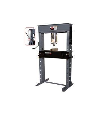 25 Ton Air/Hydraulic Shop Press with Air Assist
