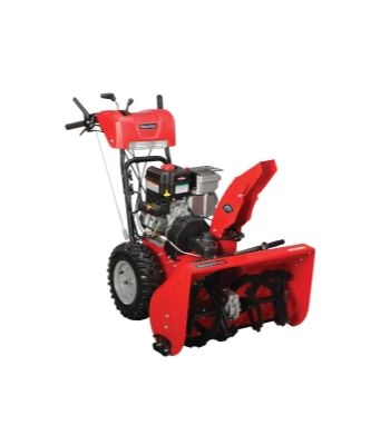 Snapper 11.5 TP, 27 Inch Snow Thrower, Dual Stage