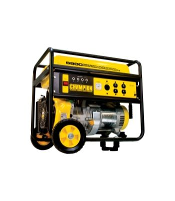 5500/ 6800 Watt Portable Gas-Powered Generator CAR