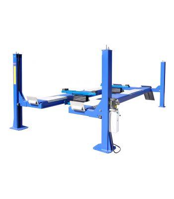 LIBERTY FP14KO-A-LIB 14,000 lb Four Post Alignment Lift - Open Front - Cable Driven