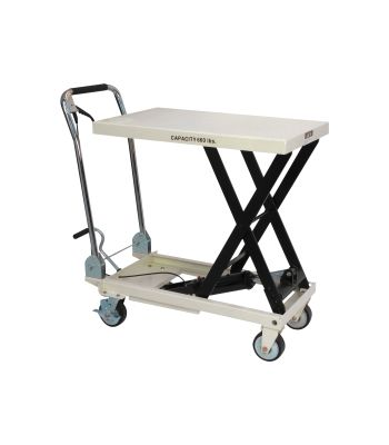 JET SLT-660F Scissor Lift Table,  660-lb Capacity JET140777