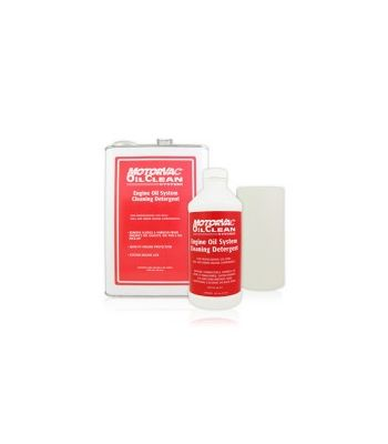MotorVac Service Chemicals - OIL CLEAN BULK (4X1 GAL + 32 FILTERS)