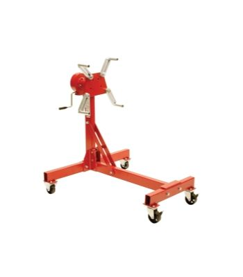 1,000 LB CAPACITY DELUXE GEARED ENGINE STAND