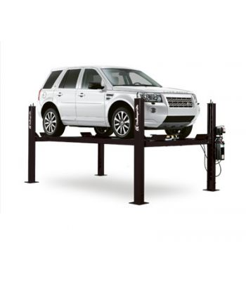 Challenger CL4P9W Extended Wide Four Post Storage Car Lift 9,000 lb