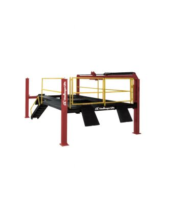 Challenger 44012LR Four Post Vehicle Lube Rack 12,000 lb