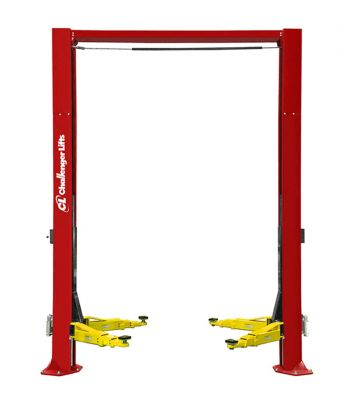 "Challenger CL12-1Symmetric 14' 8"" Heavy Duty Two Post Vehicle Lift 12,000 lb"