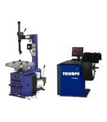 "Triumph NTC-950/NTB-800 Tire Changer and Wheel Balancer Combo 26"" Capacity"