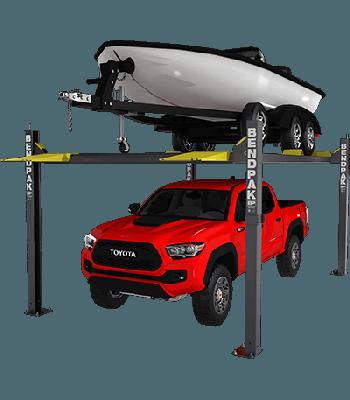 BendPak HD-7500BLX 4 Post Lift 7,500 lb. Lift Capacity 5175315