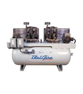 BelAire 3112D 2 x 5HP 120G 2-Stage H Elec Duplex Air Compressor