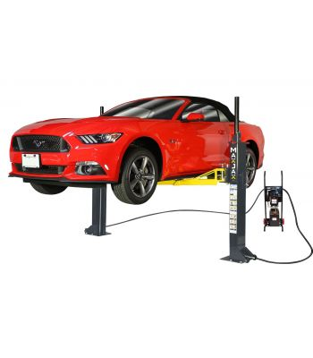 MaxJax® M6K Portable 6,000 LB 2-Post Car Lift