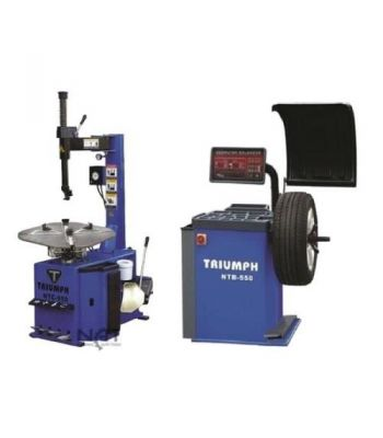 "Triumph NTC-950/NTB550 Tire Changer and Wheel Balancer Combo 26"" Capacity"