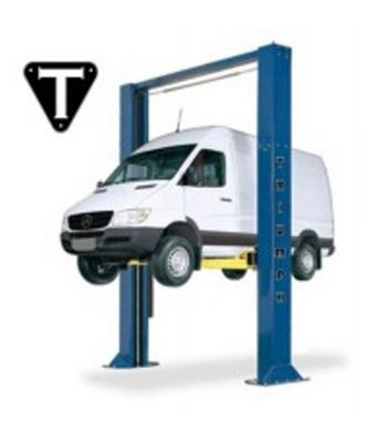 Triumph NTO-15 Symmetric Heavy Duty Two Post Truck Lift 15,000 lb