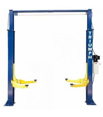 Triumph NTO-9AE Asymmetric Clearfloor Two Post Car Lift 9,000 lb