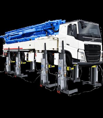 BendPak PCL-18B-2 High Low Voltage Mobile Column 144,000 lb (Set of 8)