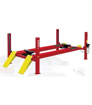 AMGO Pro-14A Four Post 14,000 LB Capacity Alignment Lift