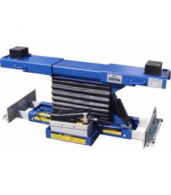 LIBERTY RAJ-6K-H-LIB Rolling Air Jack 6,000 lb. Capacity - On The Rail - Air / Hyd - High Mount