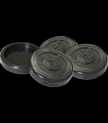 BendPak Polyurethane Tuf-Pad / Round Lift Accessory Set of 4 5700227