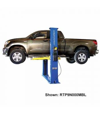Revolution RTP9 Floorplate Clearfloor Two Post Car Lift 9,000 lb