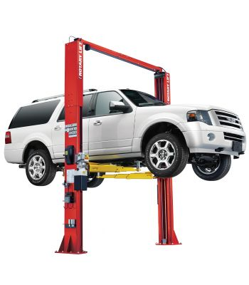 ROTARY SPO12 Symmetric Clearfloor Two Post Car Lift 12,000 lb