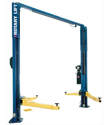 ROTARY SPOA10RA Asymmetric Three Stage Arms Clearfloor Two Post Car Lift 10,000 lb