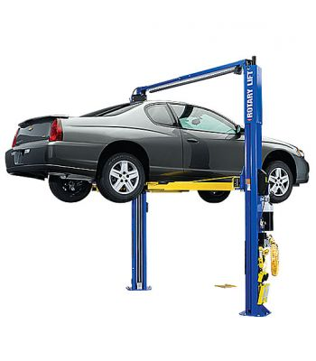 ROTARY SPOA10 Asymmetric Clearfloor Two Post Car Lift 10,000 lb