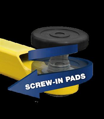 BendPak Screw Pad Assy. / 60mm Pin Lift Accessory Set of 4 5215762
