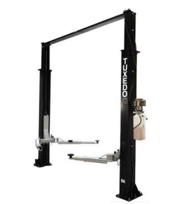 TP9KAC-TUX Light Duty Asymmetric Two Post Lift 9,000 lb. Capacity