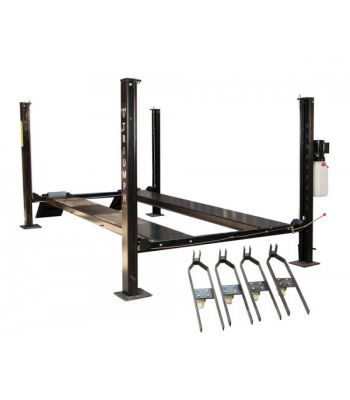 Triumph NSS-8 Four Post Storage Car Lift 8,000 lb (W/Caster Kit)