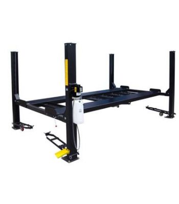 LIBERTY FP8K-DX-XLT-LIB 8,000 lb Deluxe Storage Lift Extended Length / Height - Poly casters, drip trays, jack tray
