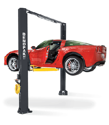 BendPak XPR-10AS  Post Lift 10,000 lb. Lift Capacity