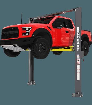 BendPak XPR-10AXLS  2 Post Lift 10,000 lb. Lift Capacity